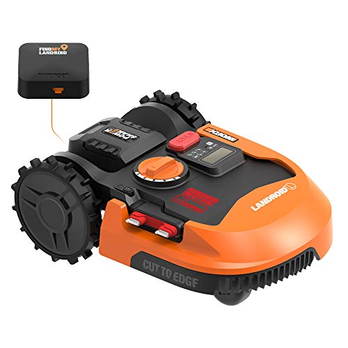 WORX WR153 Landroid L 20V Power Share Robotic Lawn Mower with GPS Module...