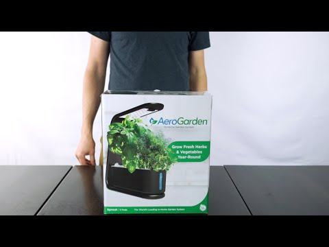 AeroGarden Sprout Unboxing and Setup