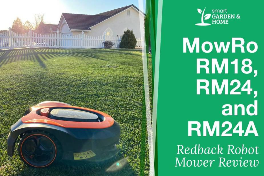 MowRo RM18, RM24, RM24A by Redback Robot Lawn Mowers Review